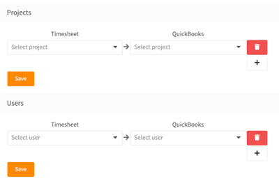 QuickBooks Mapping